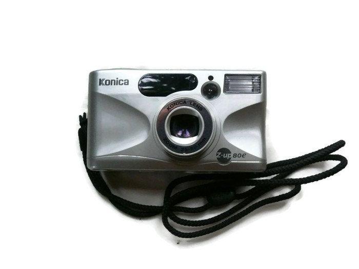 Konica Z-up 80e, Vintage Camera, 35mm Camera, Konica Camera, 35mm Film Camera, Vintage Konica, Compact Camera, Analogue Camera by HarmlessBananasTribe on Etsy