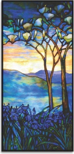 Tiffany stained glass. A feast for the mindful eye.~i WOULD LOVE TO WAKE UP EVERY MORNING LOOKING AT THIS