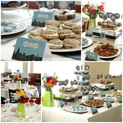 86 best Blue Dessert Table images on Pinterest   Dessert tables, Boy ...
