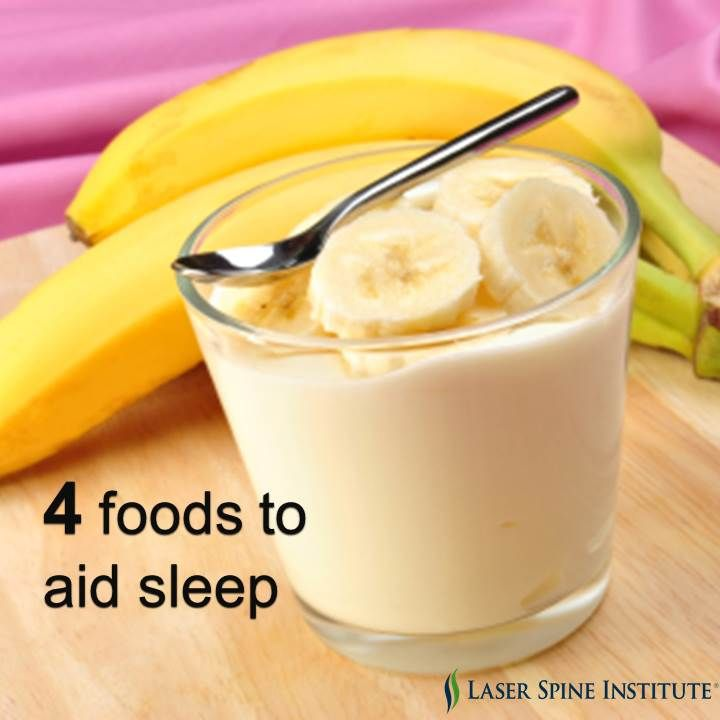 Check out these sleep-inducing foods to help you get a good night's sleep