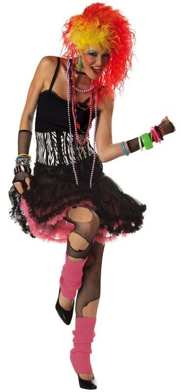 #80s party cyndi lauper disco women costume s/m from $34.14