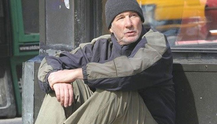 """Richard Gere: """"Homeless"""" story a hoax, but let's engage on this issue"""