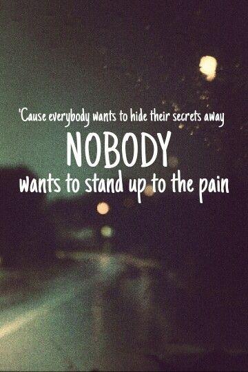 Secrets - Good Charlotte - Lyrics - Joel and Benji Madden