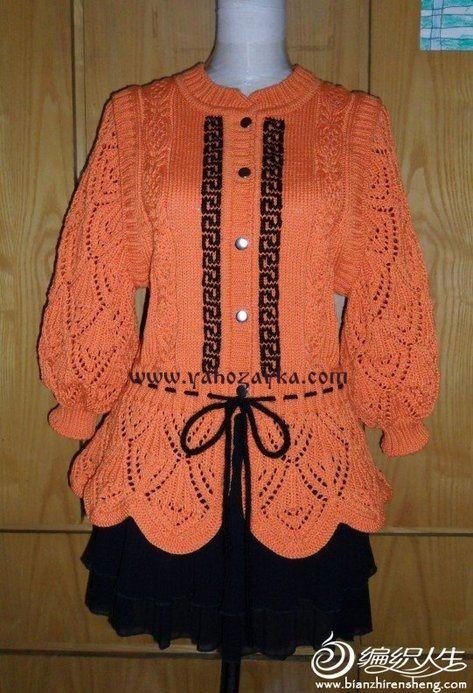 Красивая кофточка для девочки спицами. Оранжевая детская кофточка спицами мастер класс | Я Хозяйка