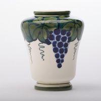 Aluminia vase nr 194/310 m drueklaser kunstfajance