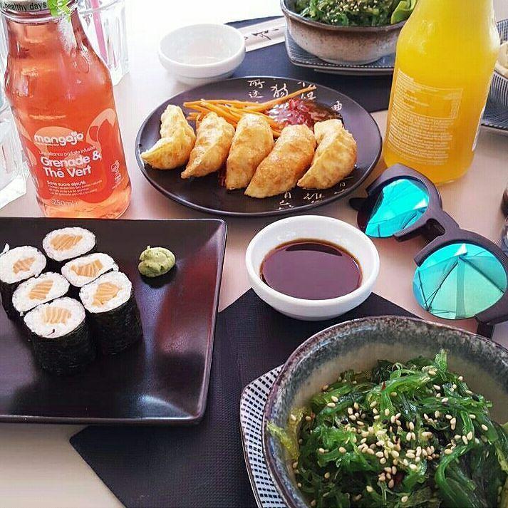 Quand Sushi rencontre Shiny... Merci à Camille @jenychooz pour cette belle photo  Bon début de semaine à tous !  ShinyBises !