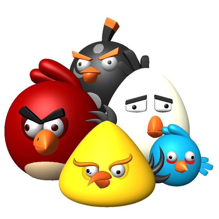 In angry birds for windows, you're on the side of the fat little birds, fighting against a horde of green pigs. Description from free-vector-logos.com. I searched for this on bing.com/images