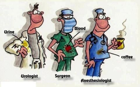 Your Dream Job? Anesthesiologist = continues coffeebreak