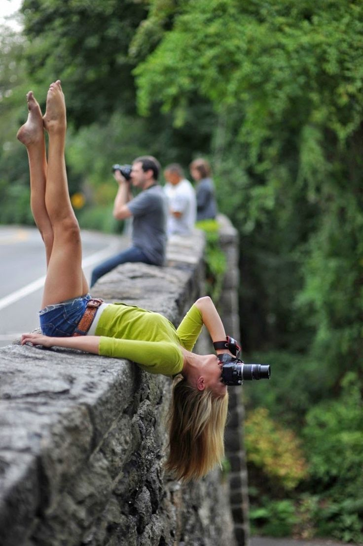 I'm wondering if I would ever go to this length to get the perfect shot......  Photo by :  Jordan Matters