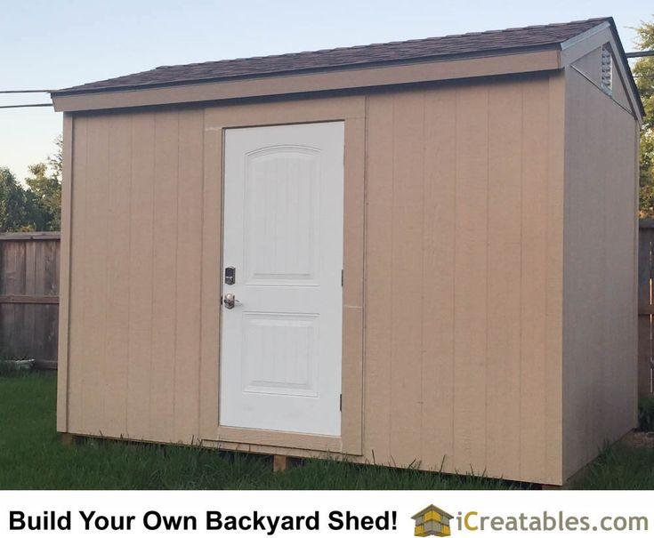 10x12 Backyard Shed Plans