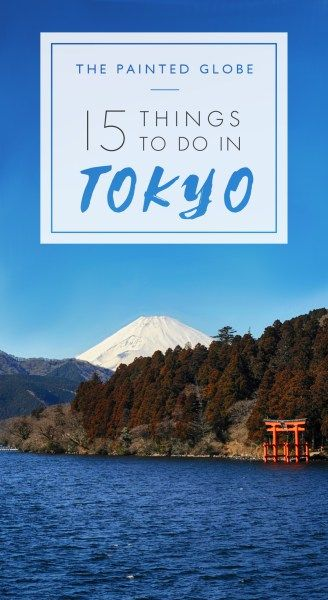 15 things to do in Tokyo – a 5 day itinerary - The Painted Globe