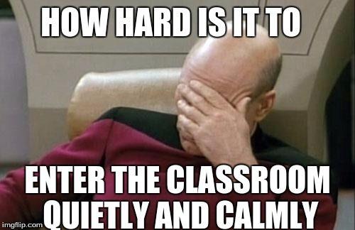 Afbeeldingsresultaat voor classroom meme
