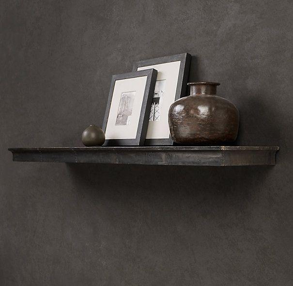 Marvelous Zinc Wall Shelf Profile   Office U0026 Storage   Restoration Hardware Great Ideas