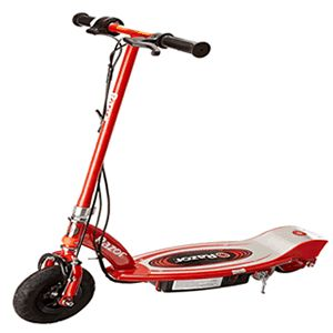 Razor E100 Electric Scooter is one of the best electric scooters for kids read why here http://www.scooterselect.com/best-electric-scooter-for-kids/