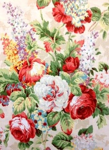Beautiful vintage fabrics and paper. I'm all in!