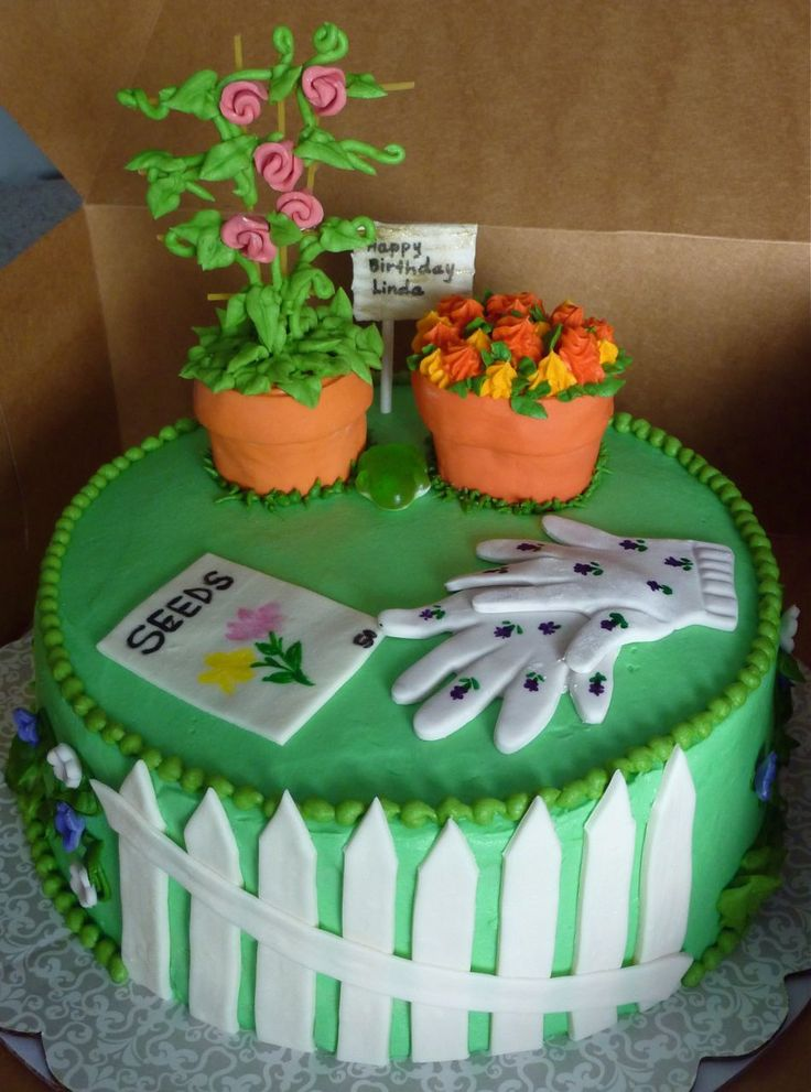 Garden Cake Google Search Party Time Pinterest