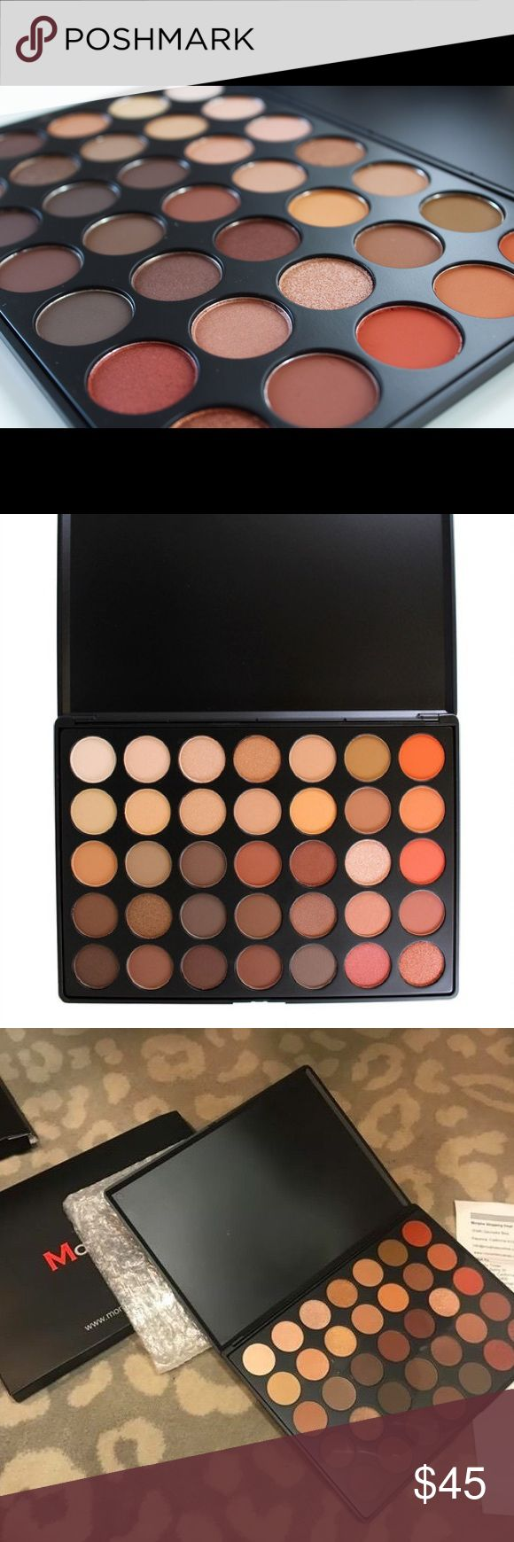 💯% Authentic Morphe 350 Nature Glow Palette Original super popular and always sold out or backordered Morphe 350 Nature Glow Eyeshadow palette 💕 Brand new in original box. Will ship with extra care and bubble wrap. Price firm, no trades. Morphe Brushes Makeup Eyeshadow