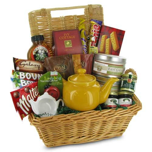 how to send a gift basket to london