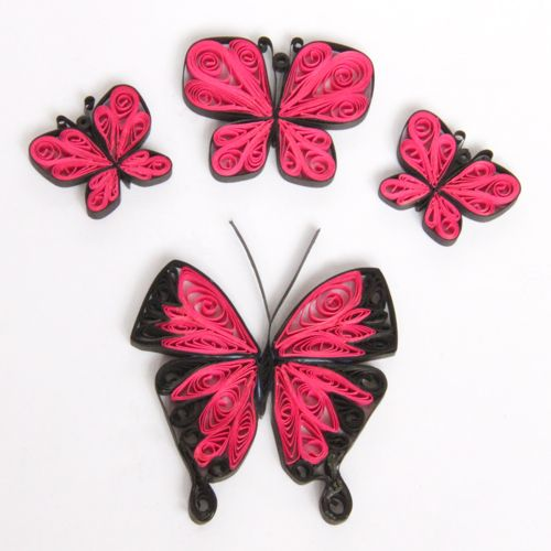 PDF Tutorial for Paper Quilled Butterflies   followpics.co