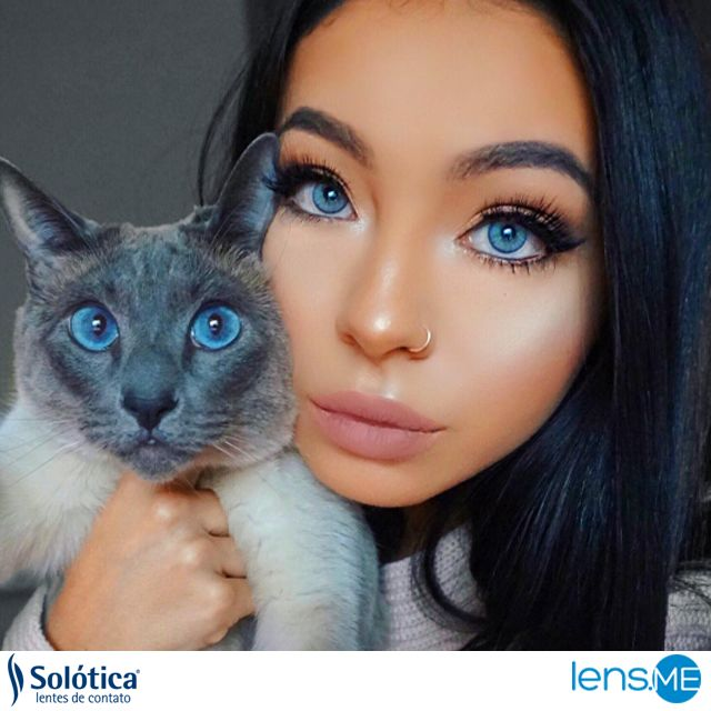 @maryliascott stuns her cat with the same eye color! Get this look by double clicking the photo!  www.lens.me  #fashionblogger #beautyblogger #makeupartist #colourcontactlenses #colorlenses #colorcontactlenses #Dubai #UAE #USA #beauty #macaddict #blogger #lips #makeupaddict #trendmood #maccosmetics #repost #macmakeup #lipstickporn #maclipstick #beautylips #hudabeauty #instamakeup #hudabeauty #solotica #anesthesia #makeuplook