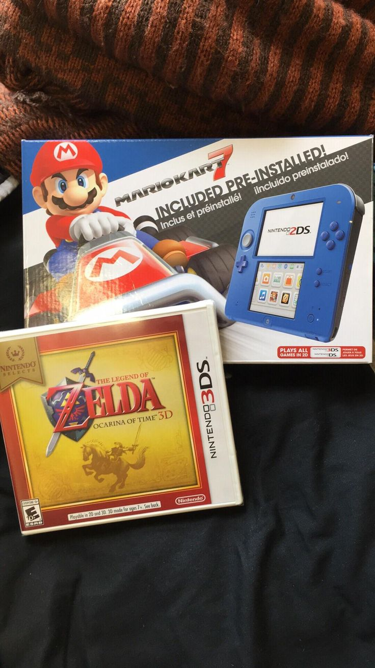 Well it only took 21 years but I finally got a Nintendo handheld for my birthday!