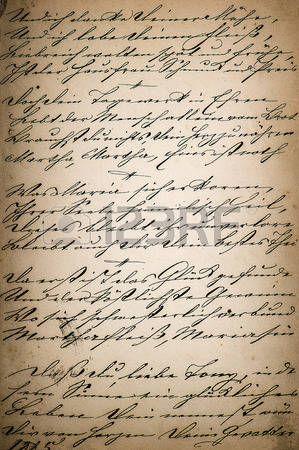 scrittura a mano d'epoca. Pagina del vecchio libro di poesia. manoscritto. et� compresa tra carta di sfondo photo