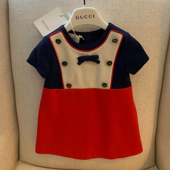f3dff37db28 Gucci Dress 12-18M. New with Tags Adorable Gucci Dress for a baby girl