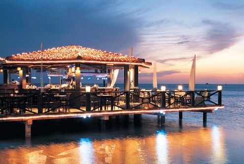 Pinchos Grill Aruba    Romantic, Relaxing & Delicious-all of that plus watching the sunset :) Loved it