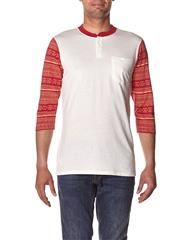 ALTAMONT - FIELDER POCKET T-SHIRT - BONE on http://www.surfstitch.com