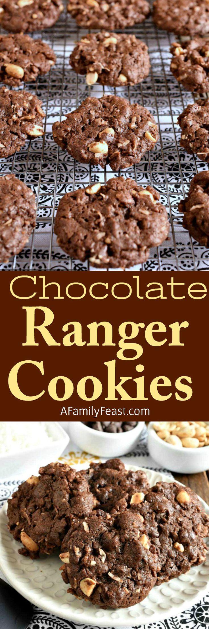 Chocolate Ranger Cookies