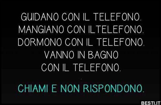 Chiami e non rispondono