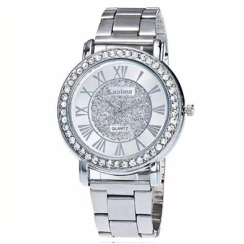 Relógio Feminino Prata Prova De Água - Promoção Dia Das Mães - R$ 39,90