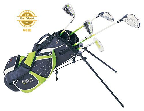Paragon Rising Star Kids Golf Clubs Set / Ages 8-10 Green