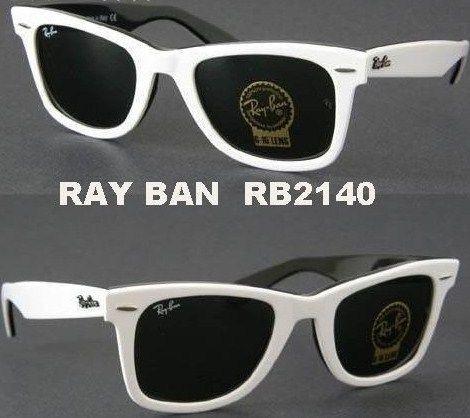 a6d54aff8 ray ban wayfarer preto e branco