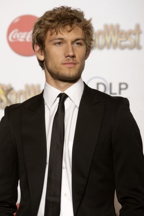 Alex Pettyfer at the ShoWest awards