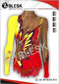 Купить Купальник с юбкой, платье 1135