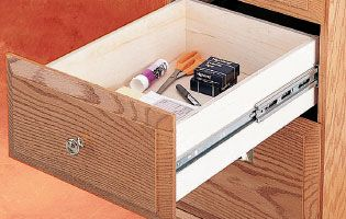 drawer slides...how to pick, what each does, and clearance guidelines for mounting. Soooo useful!