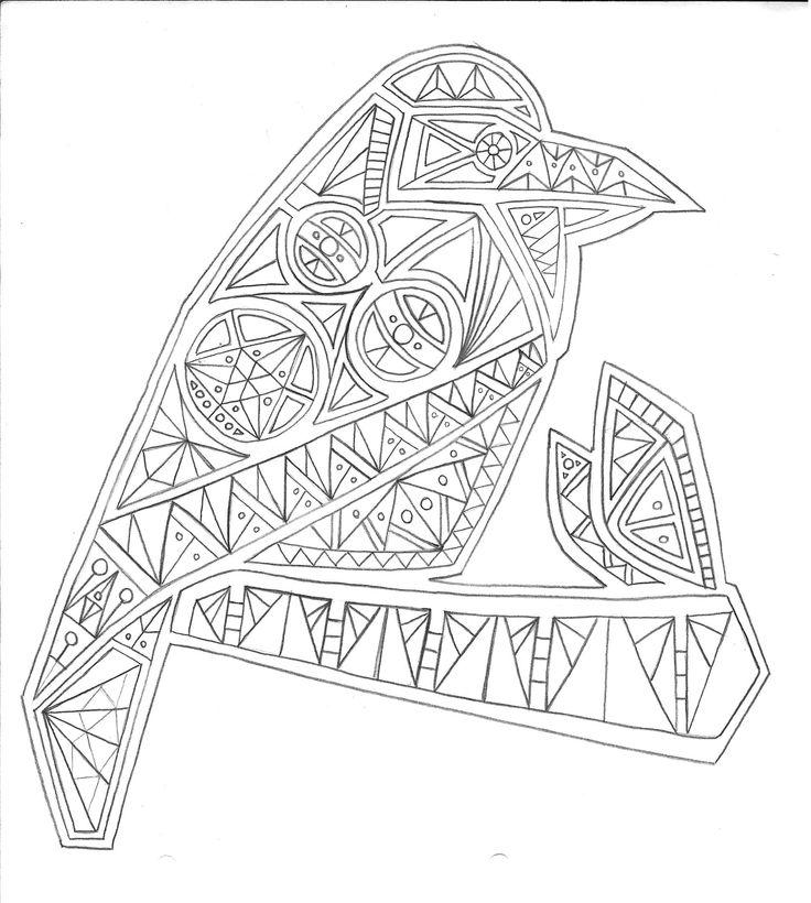 ave asimétrica_ geometrico