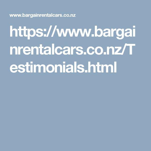 https://www.bargainrentalcars.co.nz/Testimonials.html