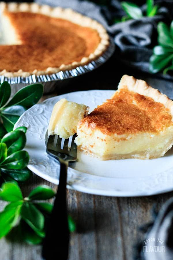 Buttermilk Pie Recipe Savor The Flavour Recipe In 2020 Buttermilk Pie Pie Recipes Recipes