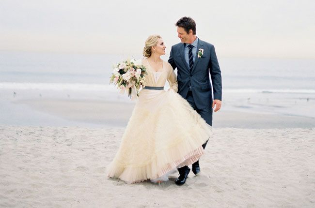 Everything here is gorgeous! Shipwrecked Winter Beach Wedding: Cortnie + Donny – Part 1