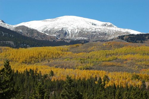 Mount Elbert, CO: second highest mountain in the contiguous US.