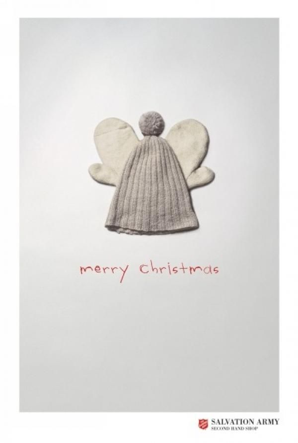 The Print Ad titled ANGEL was done by Kitchen advertising agency for product: Second-hand Clothing Store (brand: Fretex/salvation Army) in Norway. It was released in the Jun 2004.