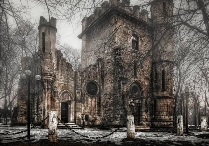 Castelul fermecat din Parcul Romanescu, Craiova! :D  Superb in orice anotimp!  <3