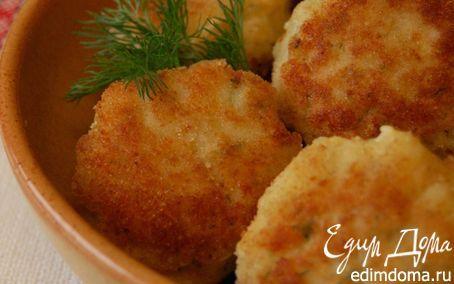 РЫБНЫЕ КОТЛЕТЫ   Кулинарные рецепты от «Едим дома!»