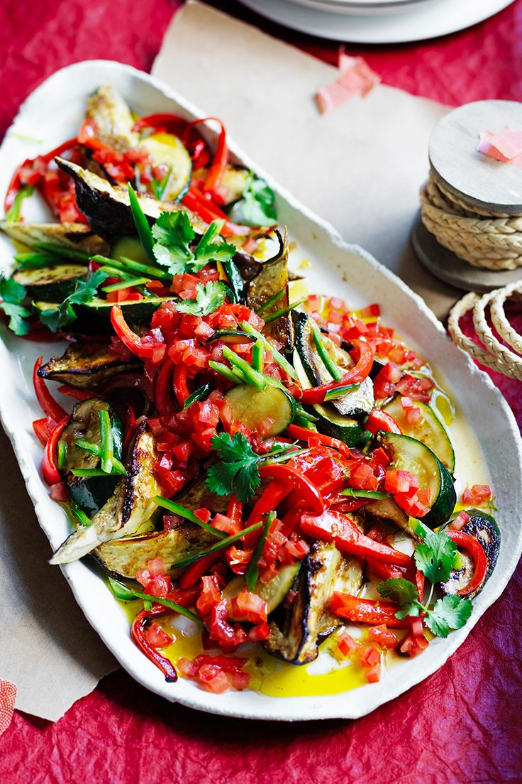 Roasted eggplant is the star of this Asian-style ratatouille. Designed for sharing, it makes the perfect accompaniment to any main dish this holiday season.