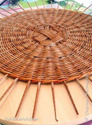 kör alap Мастер-класс Поделка изделие Плетение Внутренний бортик у крышки Трубочки бумажные фото 2