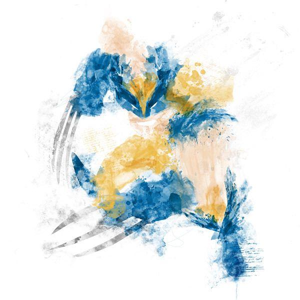 Wolverine digital art by Kacper Kiec