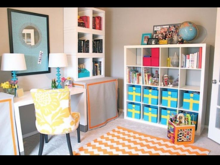 Office Playroom Combo Awesome Idea For Small Spaces Playroom Pinterest Awesome Offices