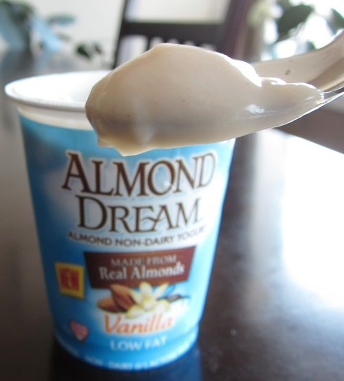 Vegan Almond Dream with Live Cultures Non-Dairy Yogurt Gluten-free, Soy-free, Corn-free, GMO-free,